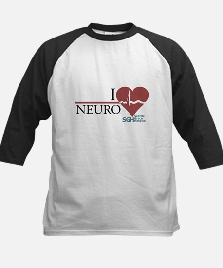 I Heart Neuro - Grey's Anatomy Kids Baseball Jerse