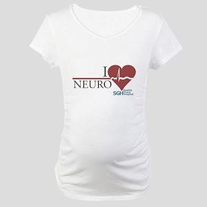 I Heart Neuro - Grey's Anatomy Maternity T-Shirt