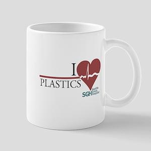 I Heart Plastics - Grey's Anatomy Mug