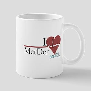I Heart MerDer - Grey's Anatomy Mug