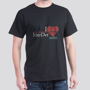 I Heart MerDer - Grey's Anatomy Dark T-Shirt