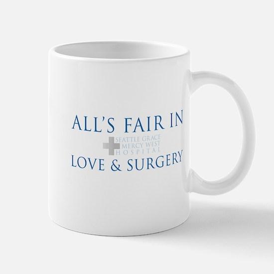All's Fair in Love and Surgery Mug