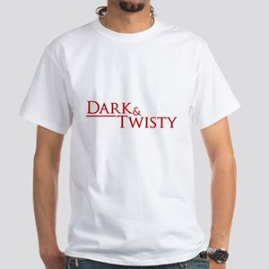 Dark & Twisty White T-Shirt