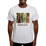 Mariposa Grove t-shirt--ash grey