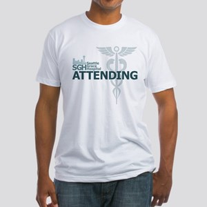 Seattle Grace Attending Fitted T-Shirt