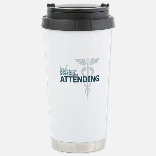 Seattle Grace Attending Stainless Steel Travel Mug