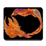 Flaming Phoenix Mousepad