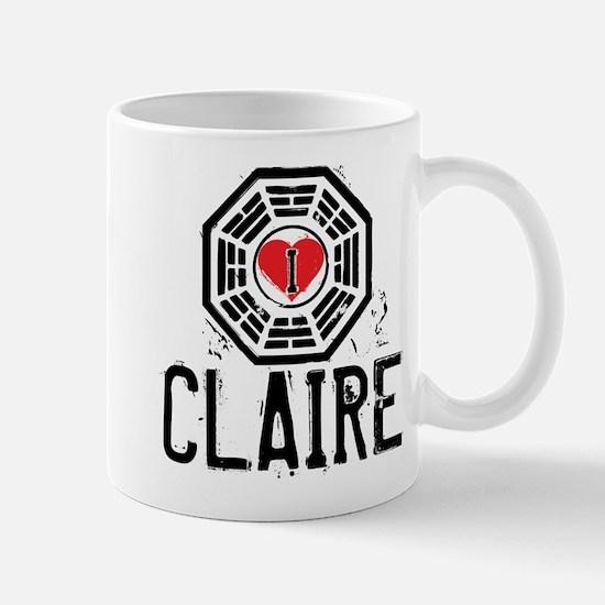 I Heart Claire - LOST Mug