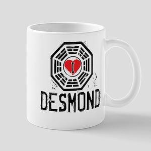 I Heart Desmond - LOST Mug