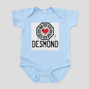 I Heart Desmond - LOST Infant Bodysuit