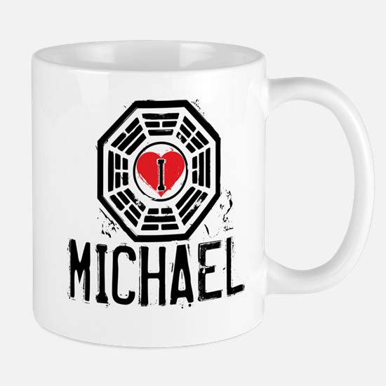I Heart Michael - LOST Mug