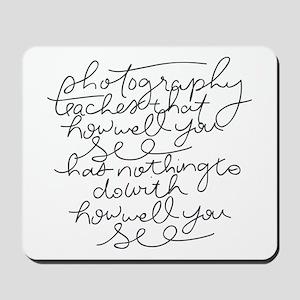 Handwritten Mousepad