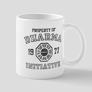 Property of Dharma Distressed Mug