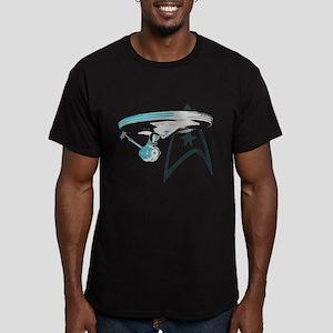 Star Trek Enterprise NCC-1701 Men's Fitted T-Shirt