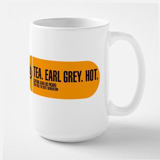 Tea. Earl Grey. Hot. Large Mug