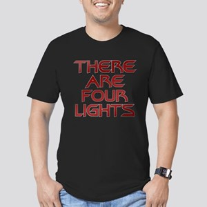 There Are Four Lights Men's Fitted T-Shirt (dark)