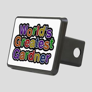 World's Greatest Gardner Rectangular Hitch Cover