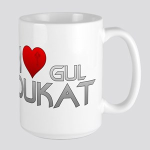 I Heart Gul Dukat Large Mug