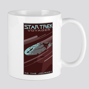 Retro Star Trek: VOY Poster Mug