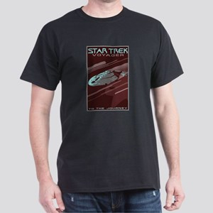Retro Star Trek: VOY Poster Dark T-Shirt