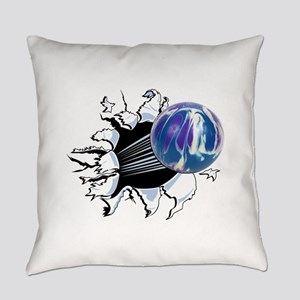 Breakthrough Bowling Ball Everyday Pillow