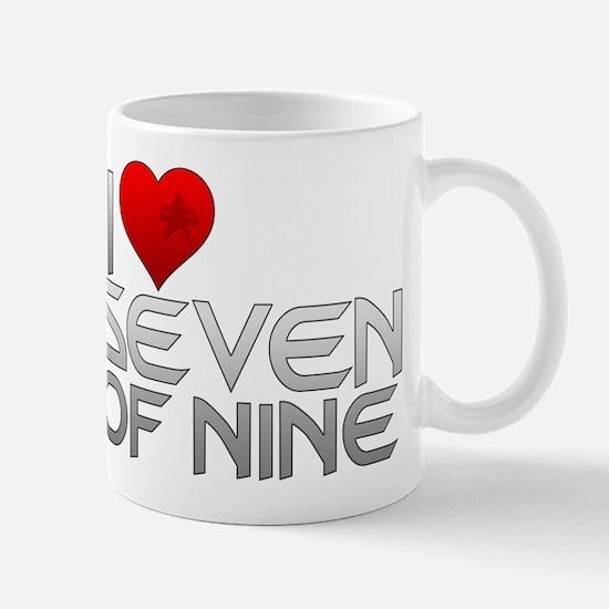 I Heart Seven of Nine Mug