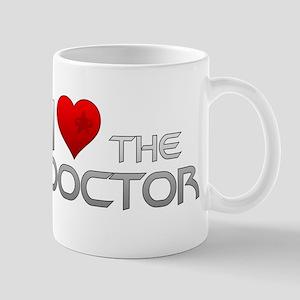 I Heart The Doctor Mug