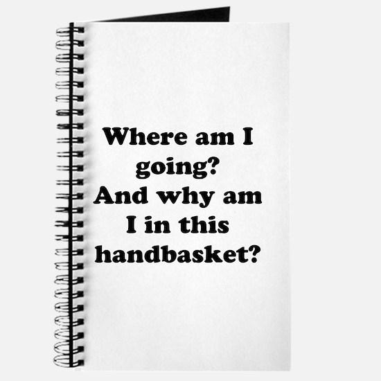 Hell In A Handbasket Journal