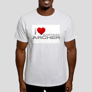 I Heart Captain Archer Light T-Shirt