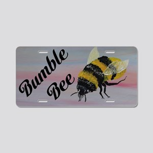 Bumble Bee Aluminum License Plate