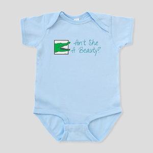 Croc Ain't She a Beauty? Infant Bodysuit
