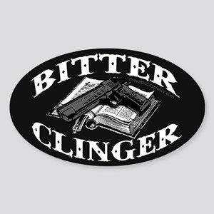Bitter Clinger (Oval Sticker)