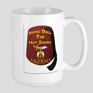Bring Back The Hot Sands Large Mug