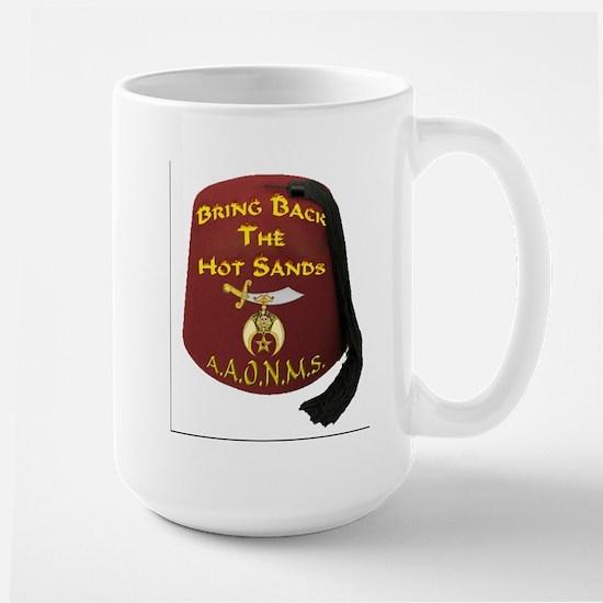 Bring Back The Hot Sands Large Mug