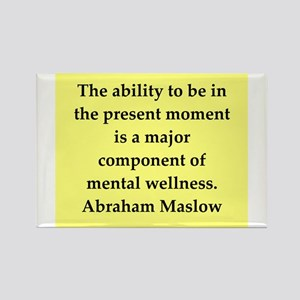 Abraham Maslow quotes Rectangle Magnet