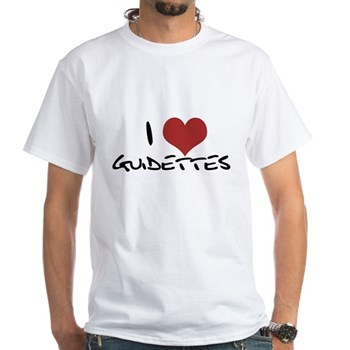 I Heart Guidettes White T-Shirt