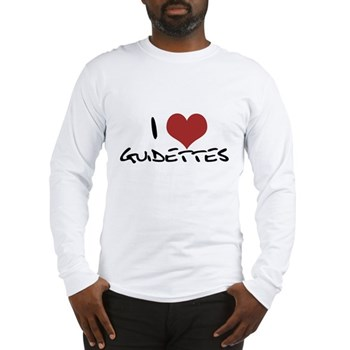 I Heart Guidettes Long Sleeve T-Shirt