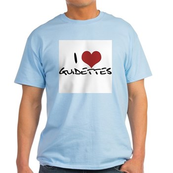 I Heart Guidettes Light T-Shirt