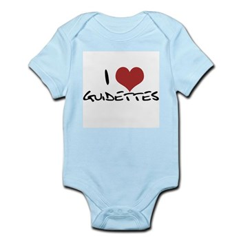 I Heart Guidettes Infant Bodysuit