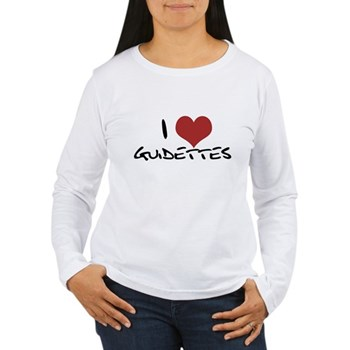 I Heart Guidettes Women's Long Sleeve T-Shirt
