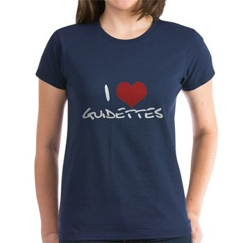 I Heart Guidettes Women's Dark T-Shirt