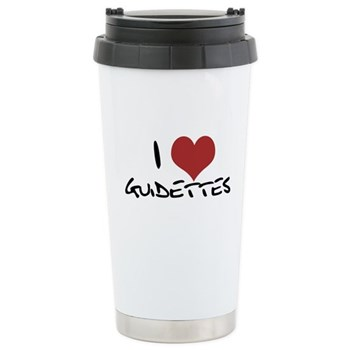 I Heart Guidettes Stainless Steel Travel Mug