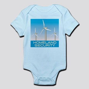 Wind Power America Infant Bodysuit