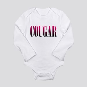 Cougar Long Sleeve Infant Bodysuit
