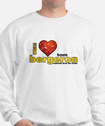 I Heart Tom Bergeron Sweatshirt