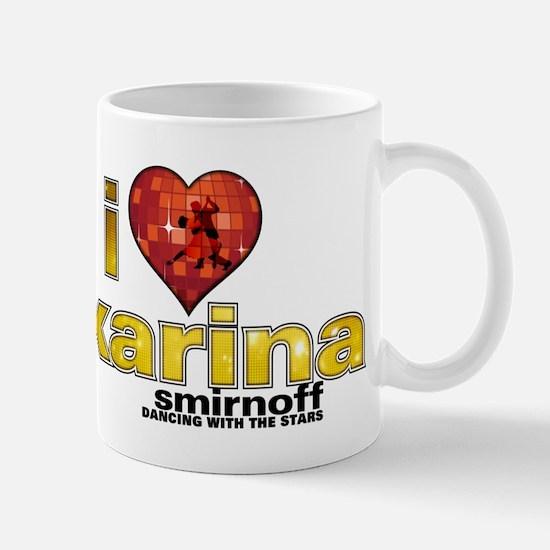 I Heart Karina Smirnoff Mug