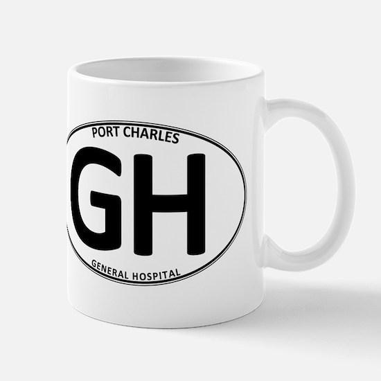 General Hospital - GH Oval Mug