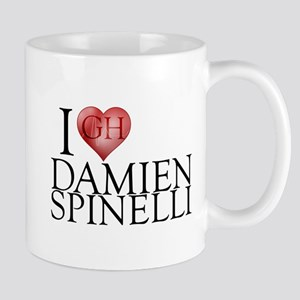 I Heart Damien Spinelli 11 oz Ceramic Mug