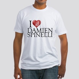 I Heart Damien Spinelli Fitted T-Shirt