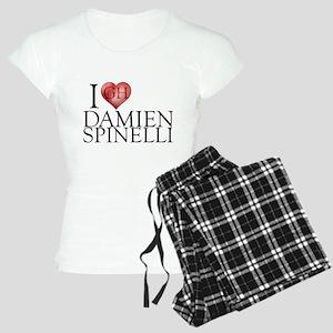 I Heart Damien Spinelli Women's Light Pajamas
